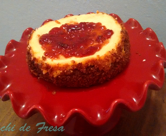 El Asalta Blogs - Cheesecake de Mató con Mermelada de Frambuesa de Mabel's Kitchen