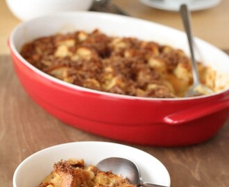 Brioche bread pudding