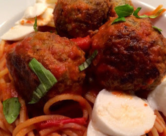 Turkey & Spinach Meatballs