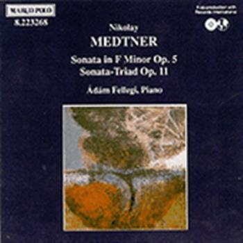 Medtner Nikolay;Piano Son / Son Triad