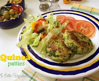 Quinoa patties.-