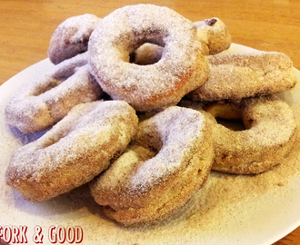 Sweet Cinnamon Dusted Dough Rings