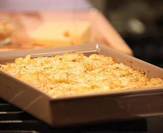 Cauliflower Gratin with Garlic Breadcrumbs