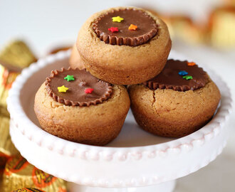 Peanut Butter Cup and Biscoff Spread Cookies