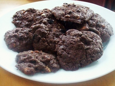 Triple Chocolate Oreo Fudge Cookies