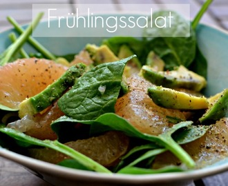 Frühlingssalat (Avocado meets Grapefruit)