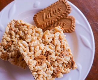 Biscoff Brown Butter Rice Krispie Treats