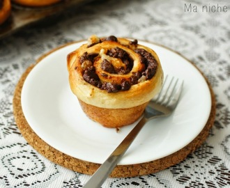 Chocolate Swirl Babka Muffin Buns # Baking Partner's Challenge