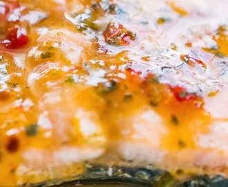Sweet Chili Soy Glazed Foil Baked Salmon