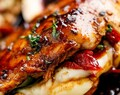 Caprese Stuffed Balsamic Chicken