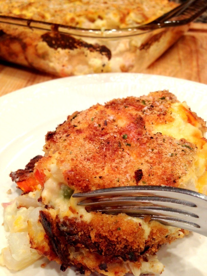 Hash Brown Chicken Casserole