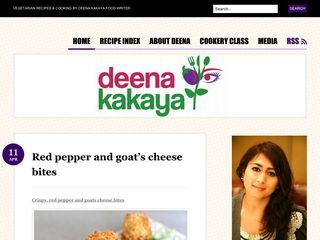 Deena Kakaya Vegetarian Recipes & Cooking