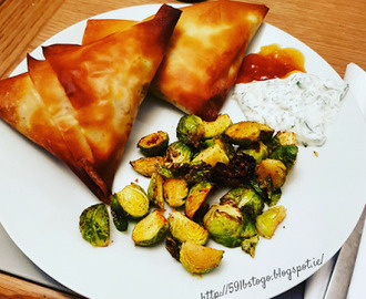 Curried Turkey Filo Parcels