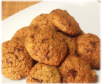 Galletas de Avena con pepitas de chocolate