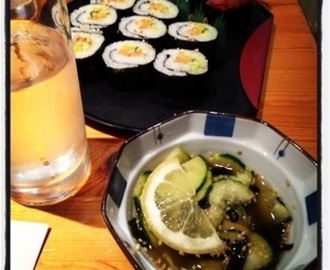 Review - Edamame sushi night