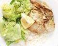 Scholle mit Basmati-Reis // Plaice with Basmati Rice