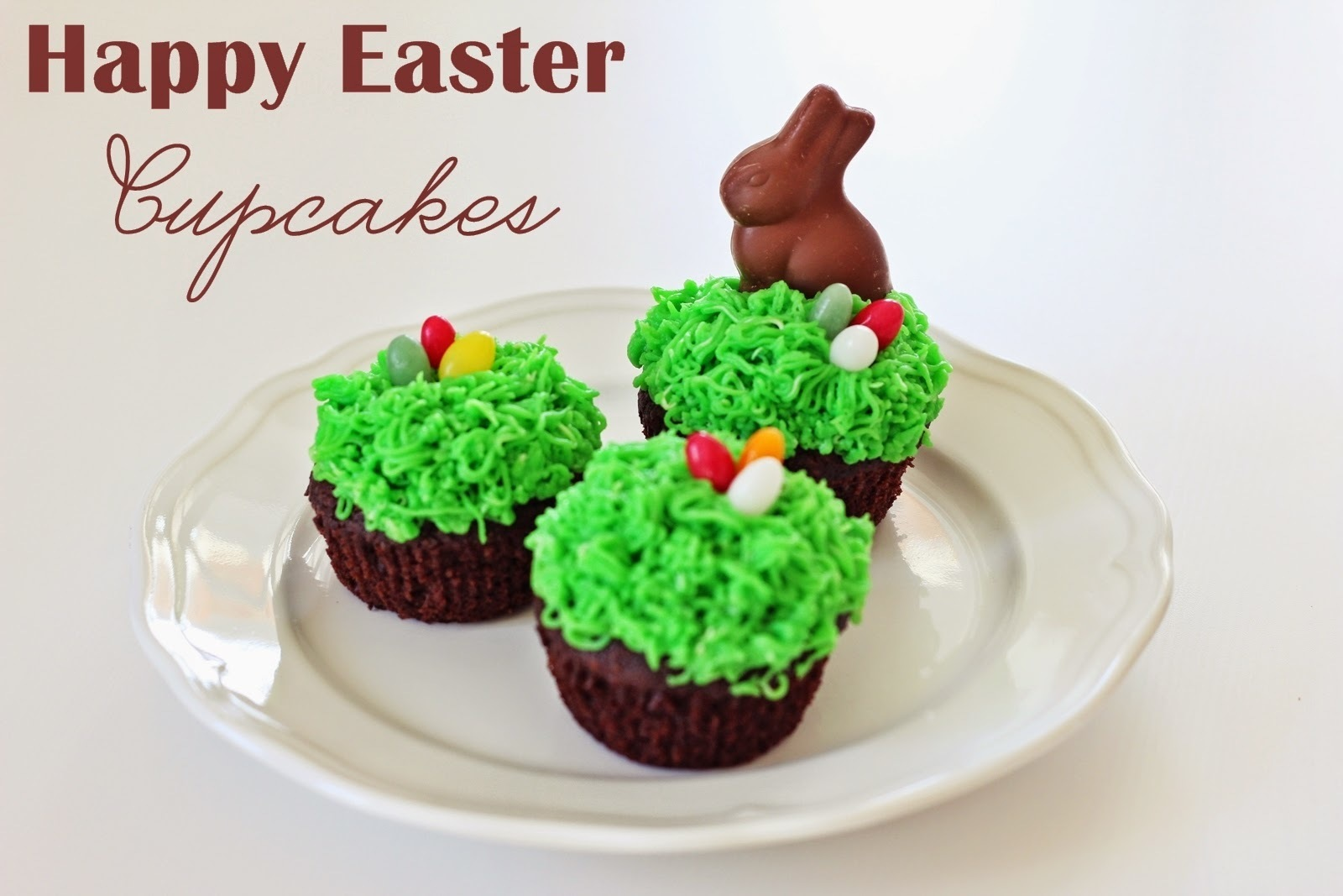 Happy Easter Cupcakes