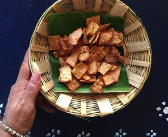 Senai Kizhangu Varuval | Home Style Yam Chips | Gluten Free and Vegan Recipe