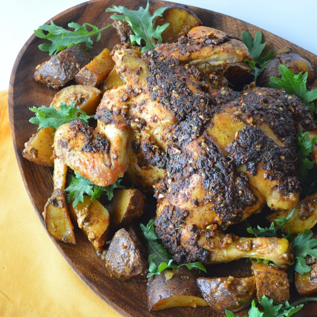 Indian Roasted Whole Chicken