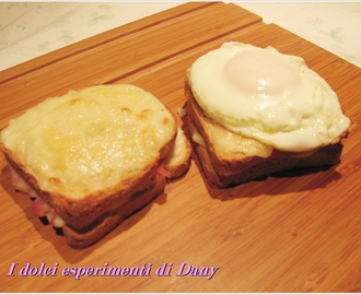 Croque monsieur e madame