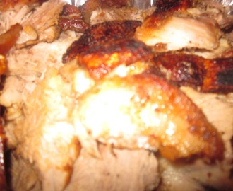 HAPPY THANKSGIVING! Pernil (roast pork)