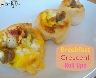Breakfast Crescent Roll Ups