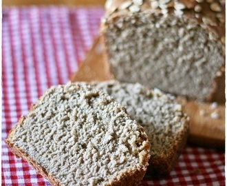 Pane all'avena con lievito madre – Oat sourdough bread
