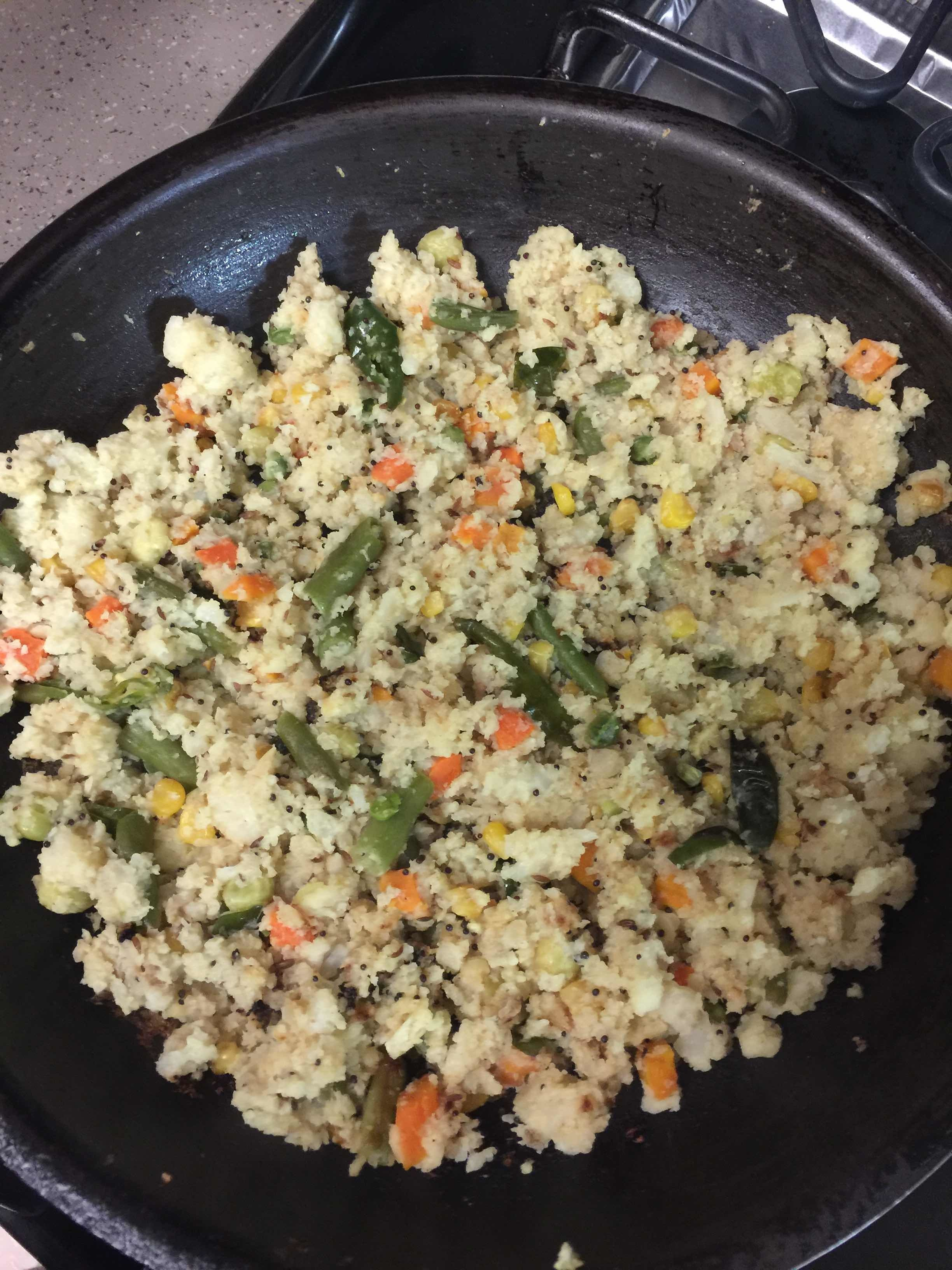 Cali Rice / Cauliflower & mixed veggies rice