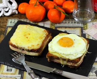 Croque Monsieur y Croque Madame, receta de sándwiches
