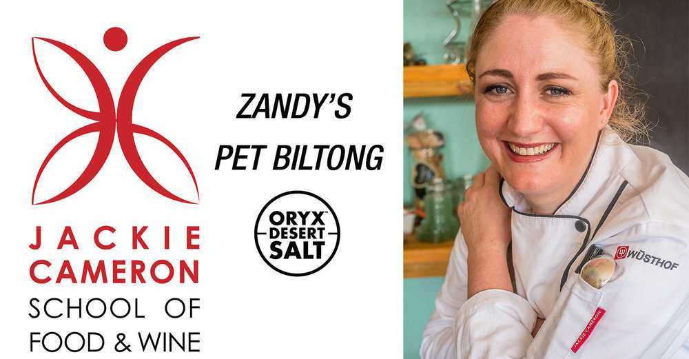 Zandy's Oryx Desert Salt Pet Biltong Recipe