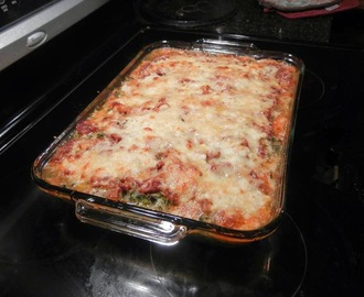 Lasagna (low carb, vegetarian)