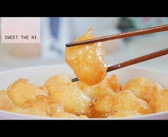 Fried Cream Puff [FOOD VIDEO]  [스윗더미 . Sweet The MI]