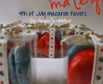 Ahoy, Matey! Fourth of July French Macarons with a Nautical Theme