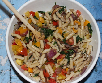 Farm Fresh… Spring Vegetable Pasta Salad!