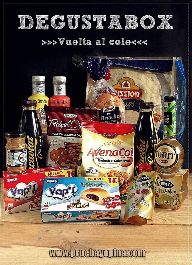 DEGUSTABOX, ¡vuelta al cole! 2015