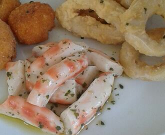 Vegan fish e finger food: tavola vegan chic