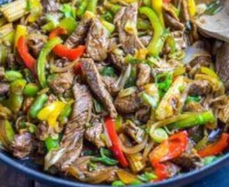 Syn Free Stir-fried Beef with Ginger and Spring Onion | Slimming World
