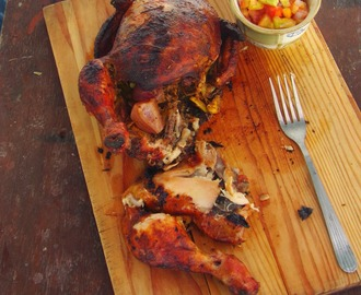 Roasted Chicken and Fresh Salsa