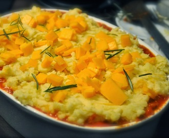 Vegetarian Shepherd's Pie recipe by Jamie Oliver