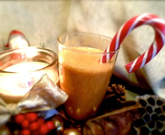 Christmas Smoothie Recipe with YouTube Tutorial