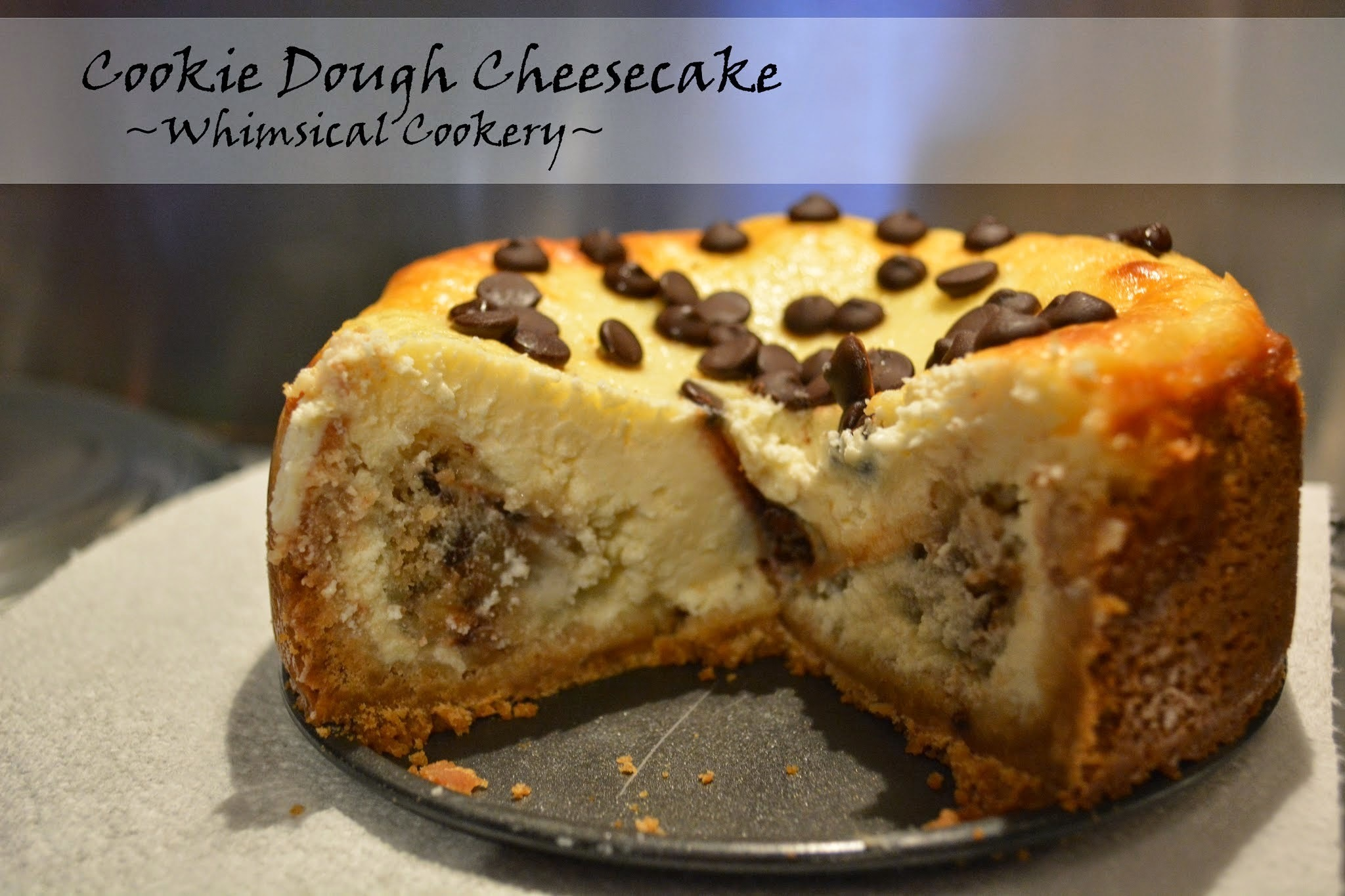 Cookie Dough Cheesecake (UK)