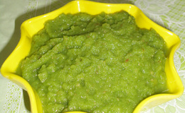 Green apple chutney