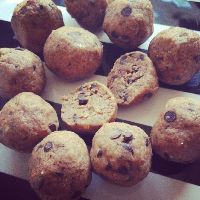 Raw Cookie Dough 3 ways- Chocolate Chip, Almond Butter, Sugar Cookie