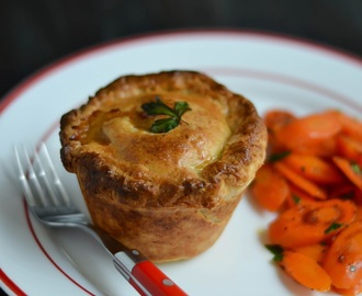 Beef Pot Pies with Irish Cheddar Crust