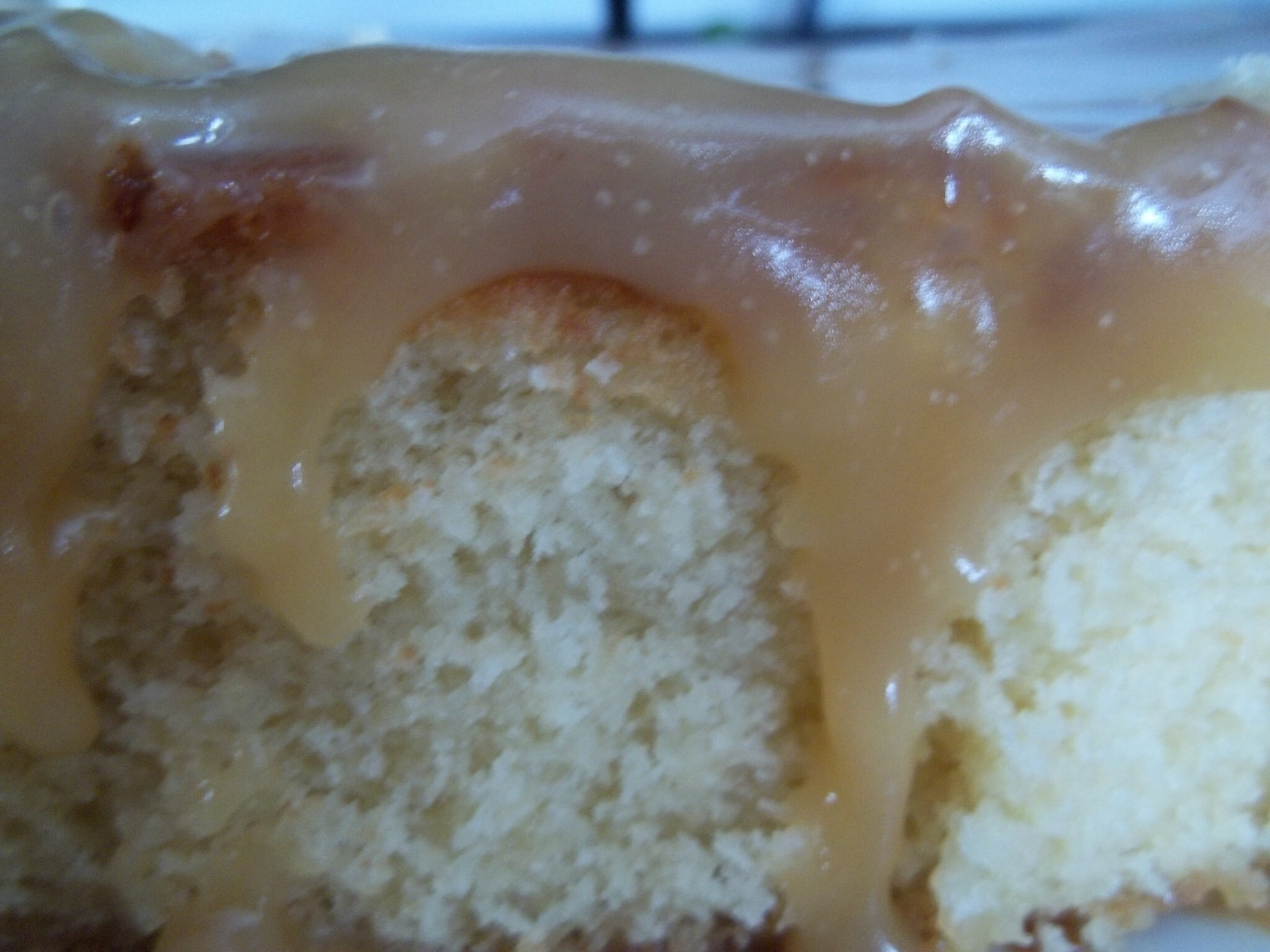 A week of recipes #3 and 4..Vanilla Cake and Caramel Icing and a poem..