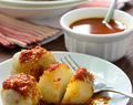 Canarian Potatoes (Papas Arrugadas) with Mojo Rojo Sauce