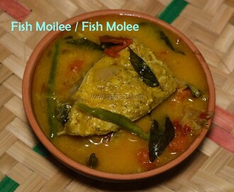 Fish Molee recipe / Meen Moilee / Fish curry with Coconut milk / Fish Moilee