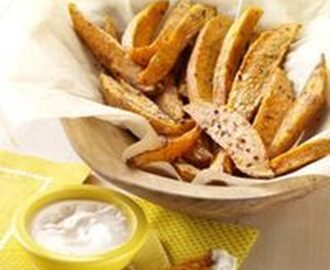 Sweet and Spicy Potato Fries Recipe