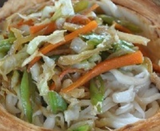 Buco Pansit (Young Coconut Stir Fry) Recipe