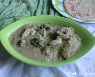 Creamy Broccoli and Chicken Gravy